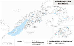 BielBienne administrative district Wikipedia