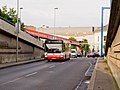 Kartouzská, odklon autobusů, Irisbus Citybus 12M.jpg
