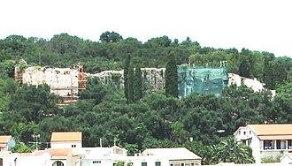 Kassiopi Castle - Kassiopi Castle renovations during modern times