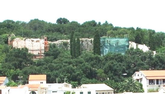Kassiopi Castle renovations