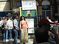 Katrina Kaif and Akshay Kumar on the set of Namastey London (1).jpg