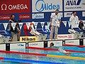 Kazan 2015 - Phiangkhwan Pawapotako wins a heat.jpg