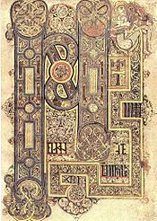El folio 30º alberga el incipit del Evangelio según Marcos.