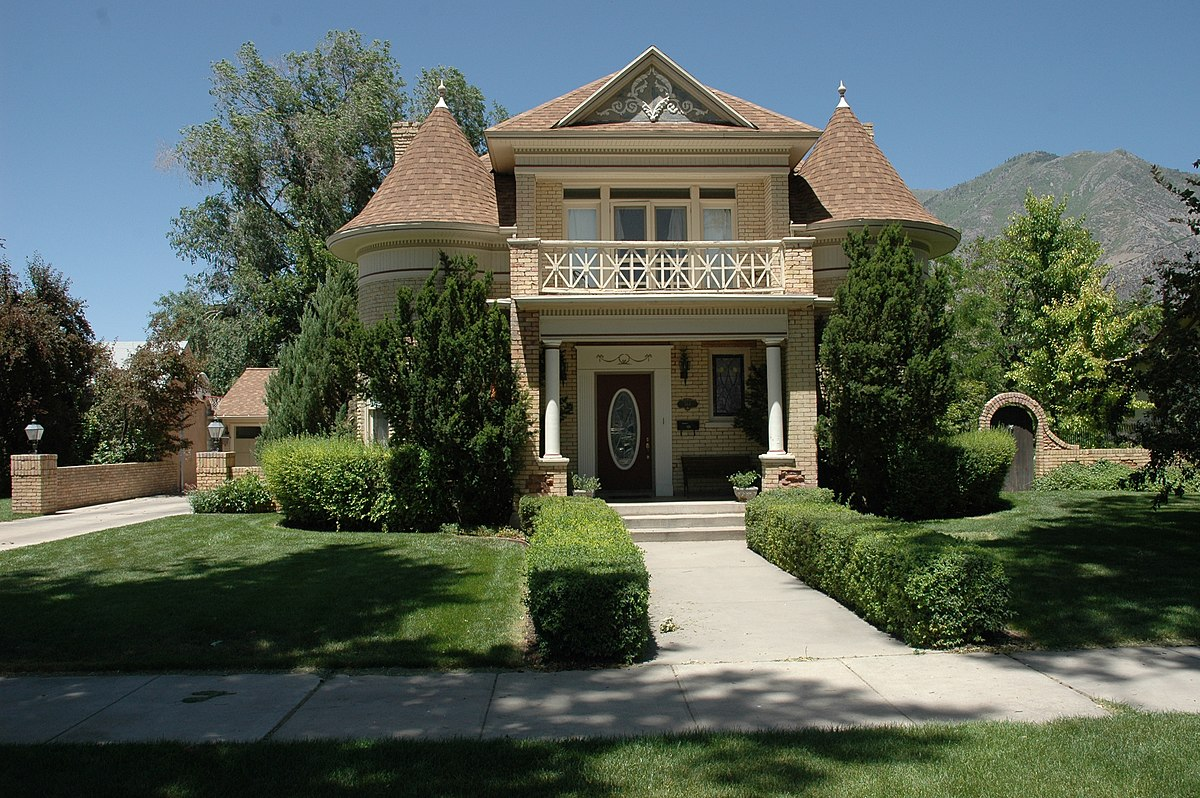 T r kelly house wikipedia for Utah house