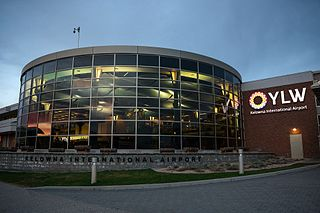 Kelowna International Airport international airport in British Columbia, Canada