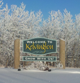 Kelvington Welcome Sign.png