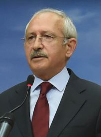 35th Republican People's Party Ordinary Convention - Image: Kemal Kılıçdaroğlu Nov 15 (cropped)