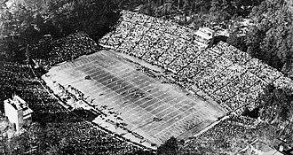 Kenan Memorial Stadium - Kenan Memorial Stadium in 1959