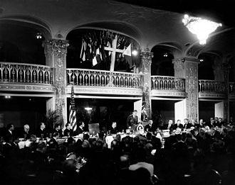 National Prayer Breakfast - President John F. Kennedy addresses the Prayer Breakfast in 1961