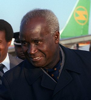 Zambian general election, 1991 - Image: Kenneth David Kaunda detail DF SC 84 01864