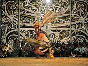 Kenyah people - Kenyah dance.