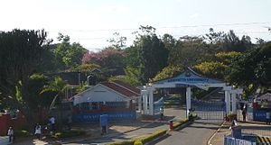 Jomo Kenyatta University of Agriculture and Technology - The campus of Jomo Kenyatta University of Agriculture and Technology, with the Africa Institute for Capacity Development building in the foreground.