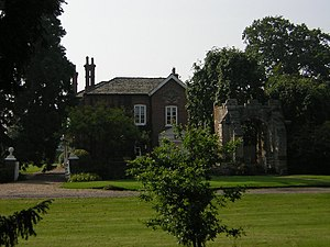 Kettlethorpe Hall - The present Kettlethorpe Hall, former seat of the Swynfords