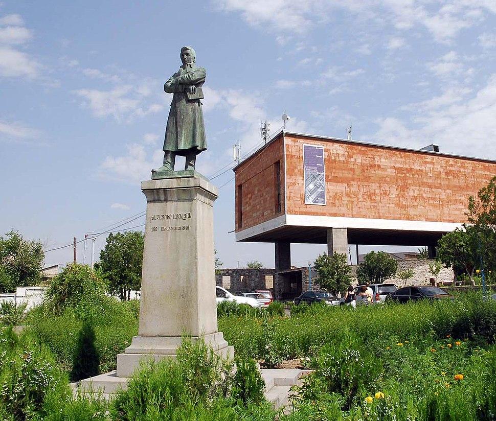 Khachatur Abovian in Kanaker Yerevan
