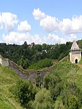 Khotyn fortress tower3.JPG