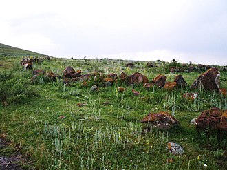 Odzaberd - Ruins of the ancient city Karmrashen
