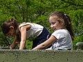 Kids Play on Tank Turret - Battery 411 Memorial - Odessa - Ukraine (26862871672).jpg