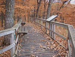 Kilen Woods State Park overlook.JPG