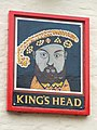Kings Head pub sign - geograph.org.uk - 919213.jpg
