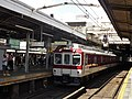 Kintetsu 8600 series 8106 at Tsuruhashi Station.jpg