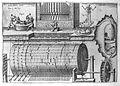 "Kircher, A., ""Musurgia universalis"", hydraulic organ Wellcome L0015993.jpg"