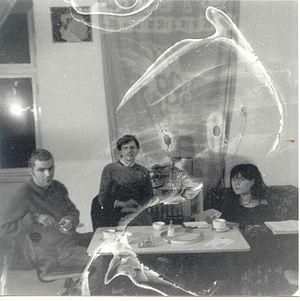 Die Tödliche Doris - Die Tödliche Doris in 1983. From left to right: Utermöhlen, Müller, Kruse