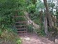 Kissing gate near Twyn Garwa - geograph.org.uk - 1942548.jpg