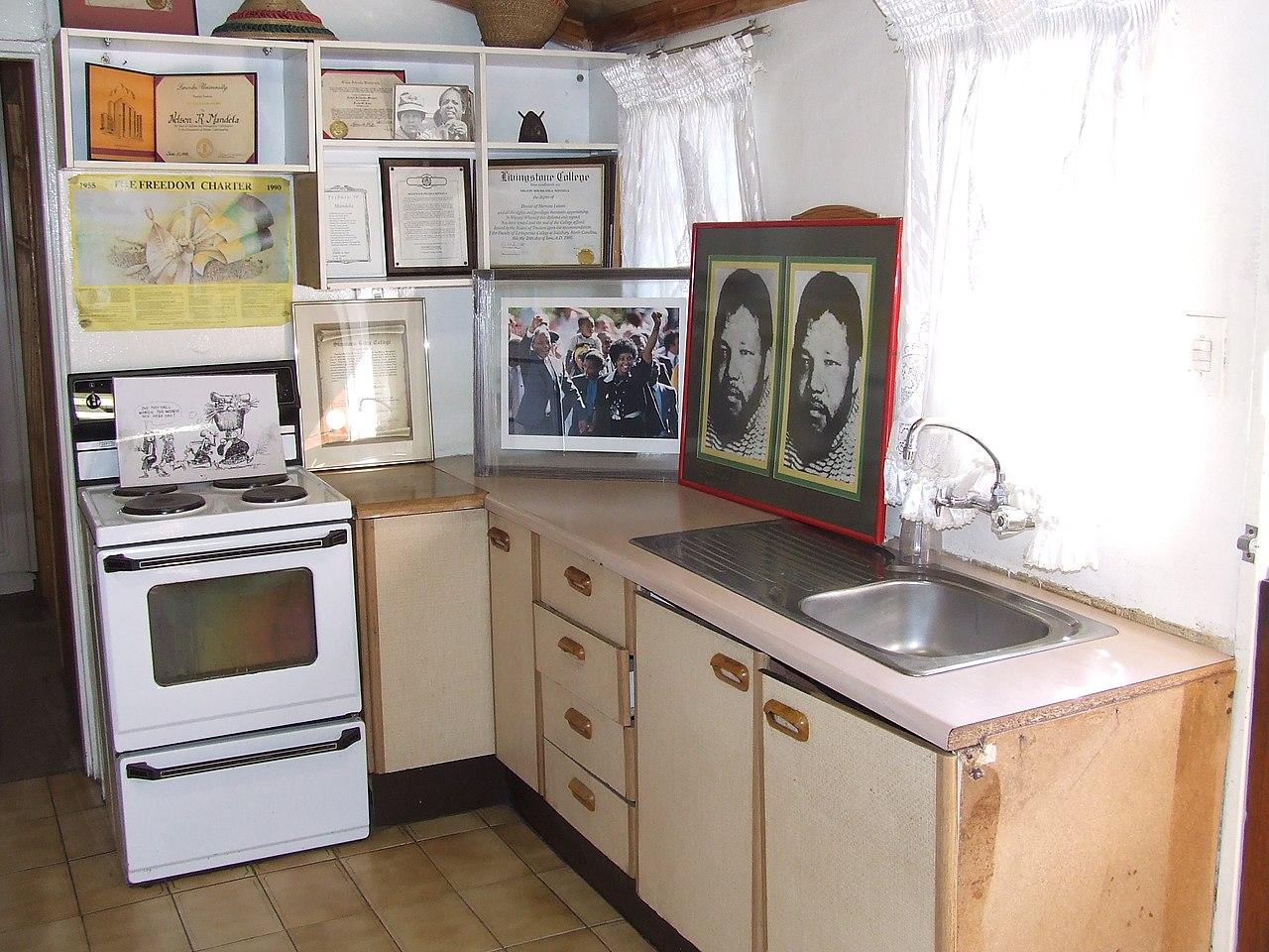 File Kitchen At Nelson Mandela Museum
