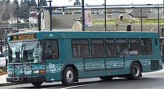 DASH (bus) - a Kitsap Transit Gillig Low Floor
