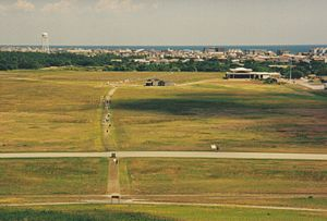 Kitty Hawk, North Carolina - Kitty Hawk Airfield in June 1998