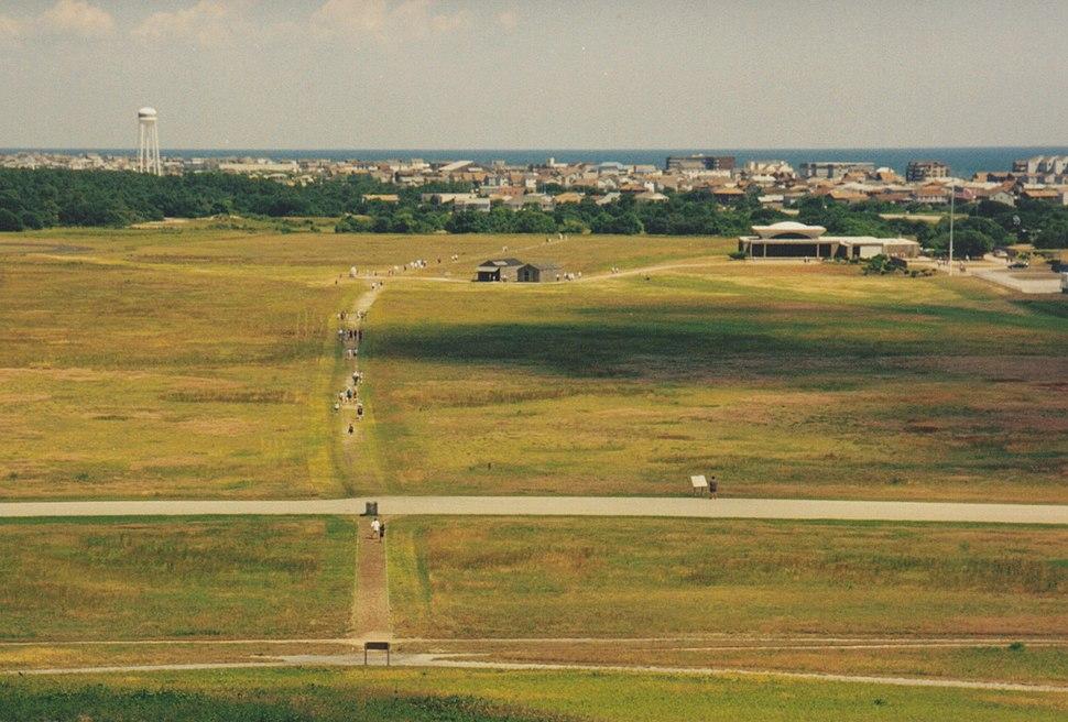 Kitty Hawk Airfield in June 1998