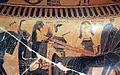 Kleitias, decorazione del vaso françois, 570 ac ca., nozze di peleo e teti, 03 muse.jpg
