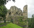 Knaresborough Castle - viewed from Castle Yard - geograph.org.uk - 1467266.jpg