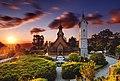 Kościół Wang o wschodzie słońca.jpg