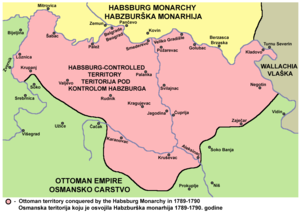 Habsburg-occupied Serbia (1788–92) - Habsburg-controlled territory in 1789–90