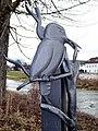 Kolbermoor, Vogel als Schmuck eines Papierkorbhalters, 1.jpeg