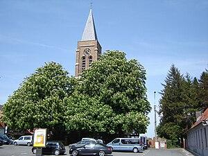 Kooigem - Image: Kooigem Sint Laurentiuskerk 1
