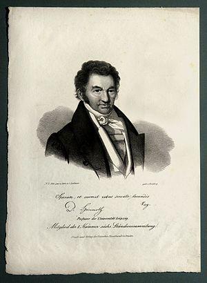 Johann Christian August Heinroth -  Johann Christian August Heinroth ca. 1811.