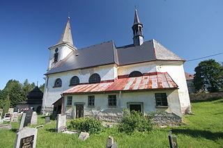Bartošovice v Orlických horách Village in Czech Republic