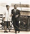 Kou et Sounthone Voravong à Nice (France) en 1951.jpg