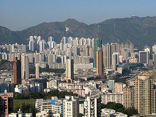 Kowloon City Neighbourhood in Kowloon, Hong Kong