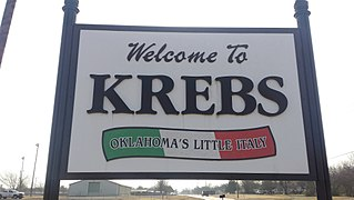 Krebs, Oklahoma City in Oklahoma, United States
