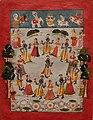 Krishna dances in the Raslila with the Gopis.jpg