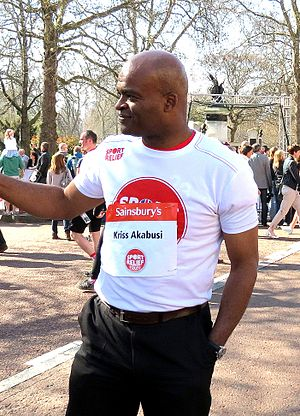 Kriss Akabusi - Kriss Akabusi, Hyde Park London, March 2012