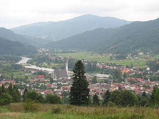 Krościenko nad Dunajcem Place in Lesser Poland Voivodeship, Poland