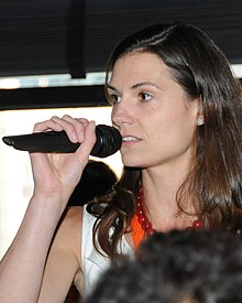Krystal Ball (D), candidate for US House in VA-01 (cropped).jpg