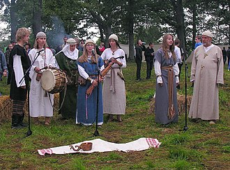 Kūlgrinda (band) - Kūlgrinda performing in Apuolė in 2009