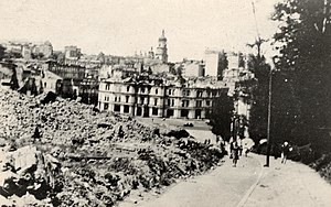Kiev City Duma building - Image: Kyiv Maidan 1941