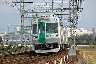 Karasuma Line - Image: Kyoto City 10 series EMU late type 002