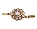 Lås till smycke av guld och pärlor - Hallwylska museet - 110032.tif